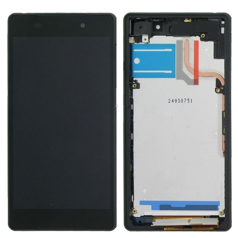 ФОТО iPartsBuy For Sony Xperia Z2 D6502 D6503 D6543 LCD Display Touch Screen Digitizer Assembly with Frame