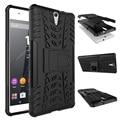 Phone case For Sony Xperia C5 E5506 E5563 Tough Impact Heavy Duty Hybrid Anti-knock Silicon Hard Back Cover For Sony C5 Ultra