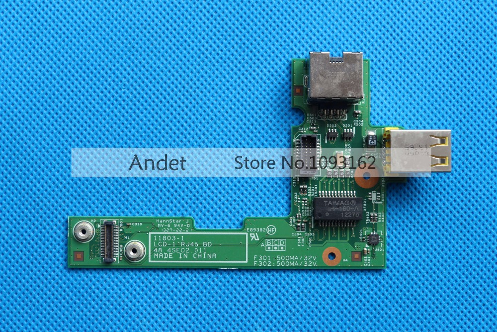 New Original for USB Lan Board For Lenovo ThinkPad L430 RJ45 Subcard 14W Cards Misc 04W3743 0B66405 new original dc in and rj45 lan ethernet board for lenovo thinkpad edge e431 e440 series fru 04x4339 ns a151 dc02c003c00