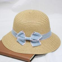 SUOGRY 2019 Parent-Child Summer Hat For Women Straw Beach Baby Sun Travel Bucket Panama