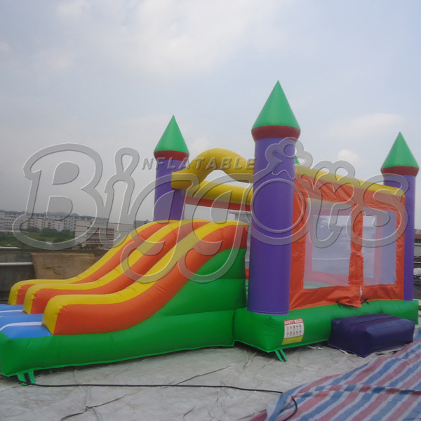 цена на FREE SHIPPING BY SEA Factory Direct Commercial Inflatable Bouncer Inflatable Jumping House Inflatable Slide Combo For Sale