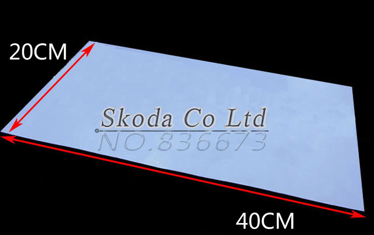 Free shipping GPU CPU Thermal Conductive Silicone Pad 400*200mm bule  Thermal Pad for laptop North & South Chip