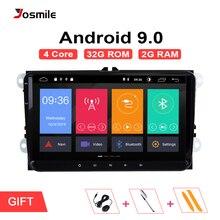 2din Android 9.0 GPS AutoRadio Per Skoda Octavia 2 Passat B6 VW T5 Polo Amarok Volkswagen Superb 3 Seat Leon golf 5 6 Multimedia