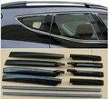 Portador de equipaje Riel del techo Techo Bastidores de coches prácticos productos accesorios de auto Ajuste Para 2013 Hyundai Santa Fe IX45