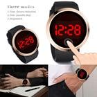 Men Sport LED Watches Touch Screen Men's Digital Watch Men Watch Silicone Electronic Watch Men Clock hodinky relogio masculino