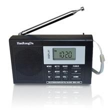 Portable Full band Digital Tuning Multiband Stereo Tuner MW/AM/FM/SW Shortwave Radio REC Control Receiver