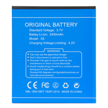 Original Battery for DOOGEE X5/X5 Pro 2400mAh Battery for DOOGEE X5/x5 Pro Smartphone Replacement