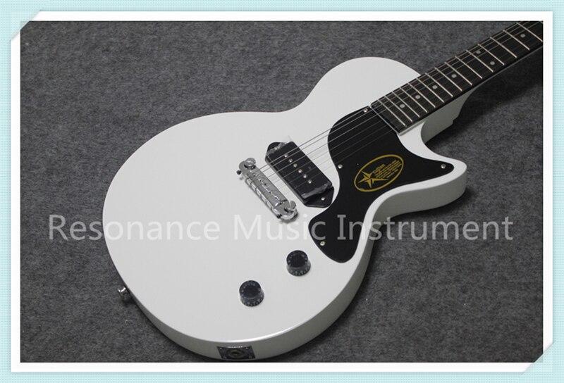 Оптовая продажа Китай OEM белый глянцевая отделка Suneye LP Custom электрогитары левша доступны