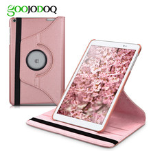 GOOJODOQ for Huawei MediaPad T3 10 Case Ultra Slim Lightweight 360 Stand Smart Cover for Huawei MediaPad T3 10.0 Case 9.7 inch(China)