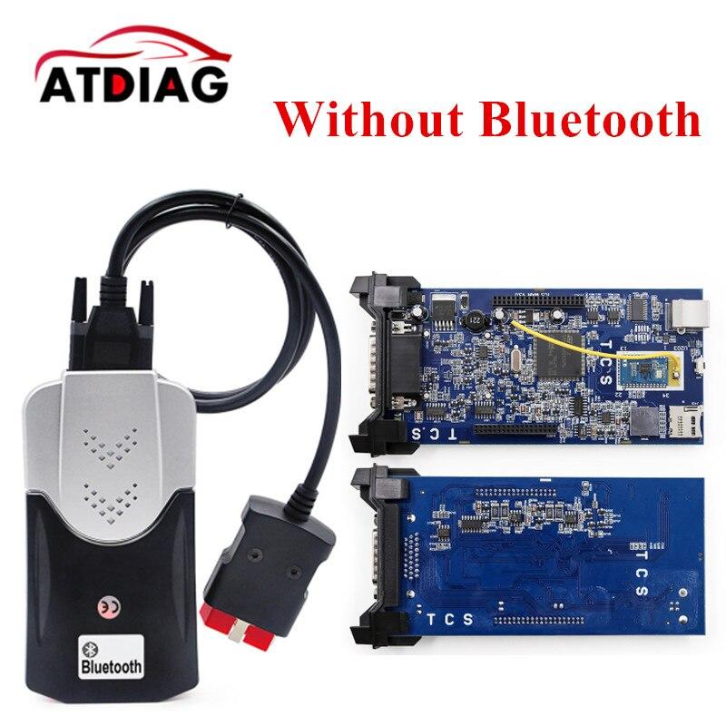 A + Qualité 100% date vert relais Unique Pcb nouveau vci Avec bluetooth 2015 r3 version sur cd avec carton boîte TCS CDP PRO s