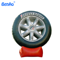 Z146 Inflatable Tyre Model Event Advertising Tyre Product Car Shape Inflatable Inflatable Tire Balloon To Increase