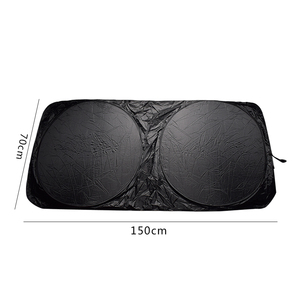 Image 4 - best quality UV Protection Car for Lexus 150*70cm Front Rear Window Foil Film Windshield Visor Cover Car Sunshade Accessories