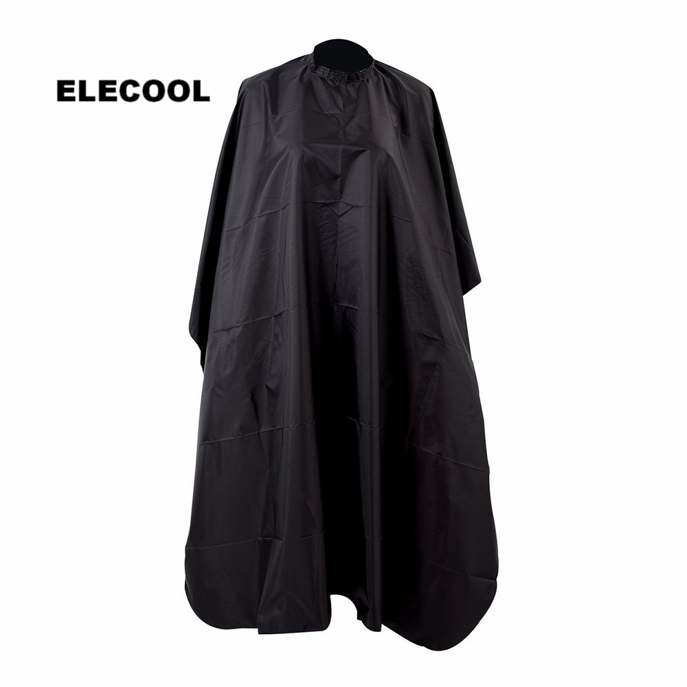 ELECOOL Durable Waterproof Adult Hair Cutting Gown Hairdressing Apron Shade Cape Cloth Gown Salon Barber Accessories