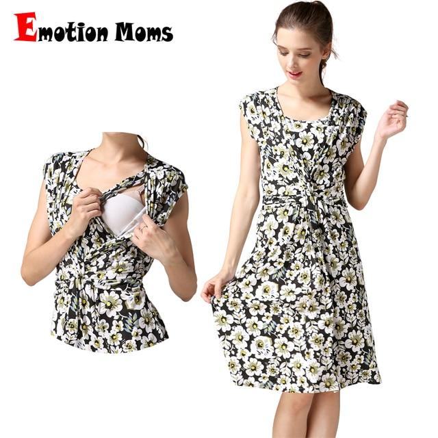 6f385b537 Emotion Moms odzież ciążowa lato sukienka ciążowa sukienka do karmienia  piersią karmienie piersią sukienki odzież dla