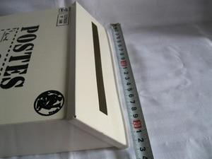 Image 5 - Buzón de correo a la moda, caja de periódico, Color blanco