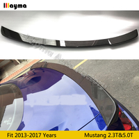Roush Style Carbon Fiber rear trunk spoiler For Ford Mustang 2.3 5.0 2 Door Coupe 2015 2016 2017 year Car rear wing spoiler
