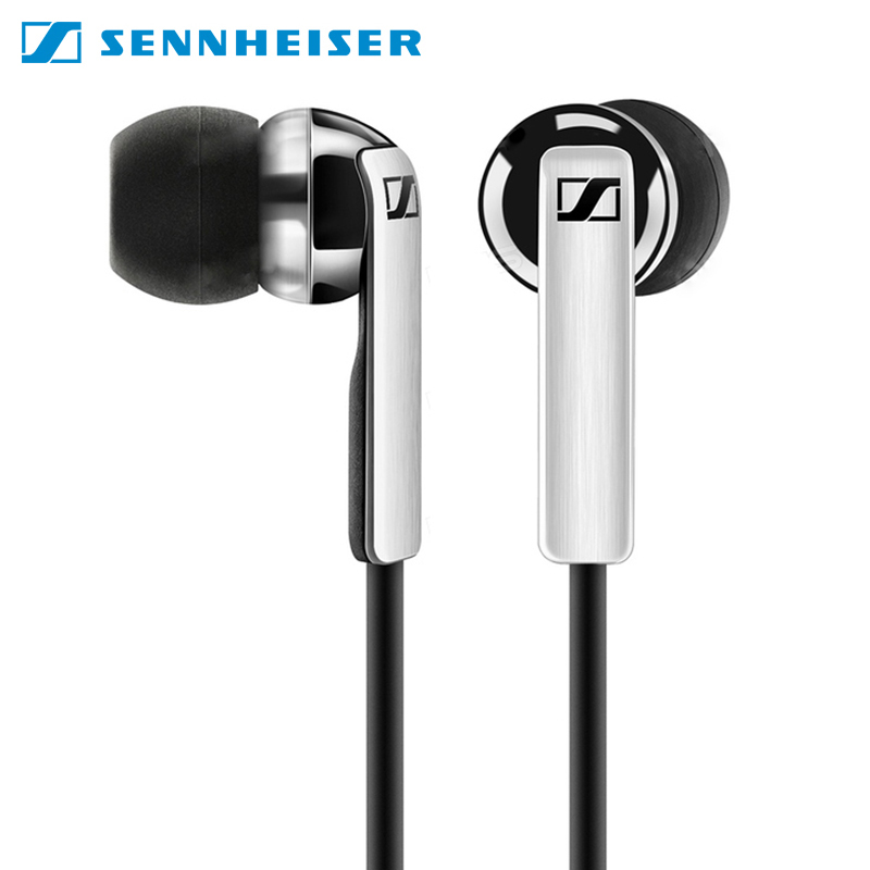 Earphones Sennheiser CX 2.00G with microphone earphone for phone in-ear retractable 3 5mm in ear stereo earphone microphone 110cm