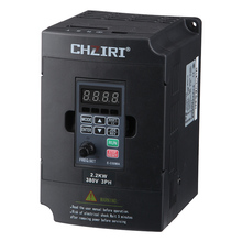 220V 1.5KW Single Phase input and 3 Output Frequency Converter / Adjustable Speed Drive Inverter VFD