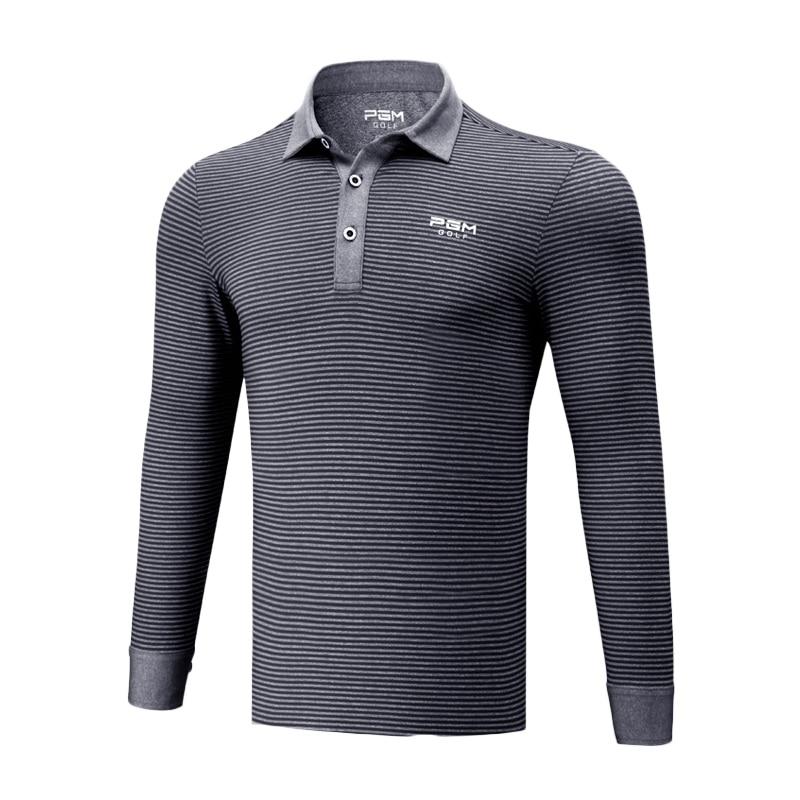Neue Ankunft männer Golf T Shirts Langarm Hombre Atmungsaktive Drehen-unten Kragen Golf Training Hemd Golf Training T Shirts