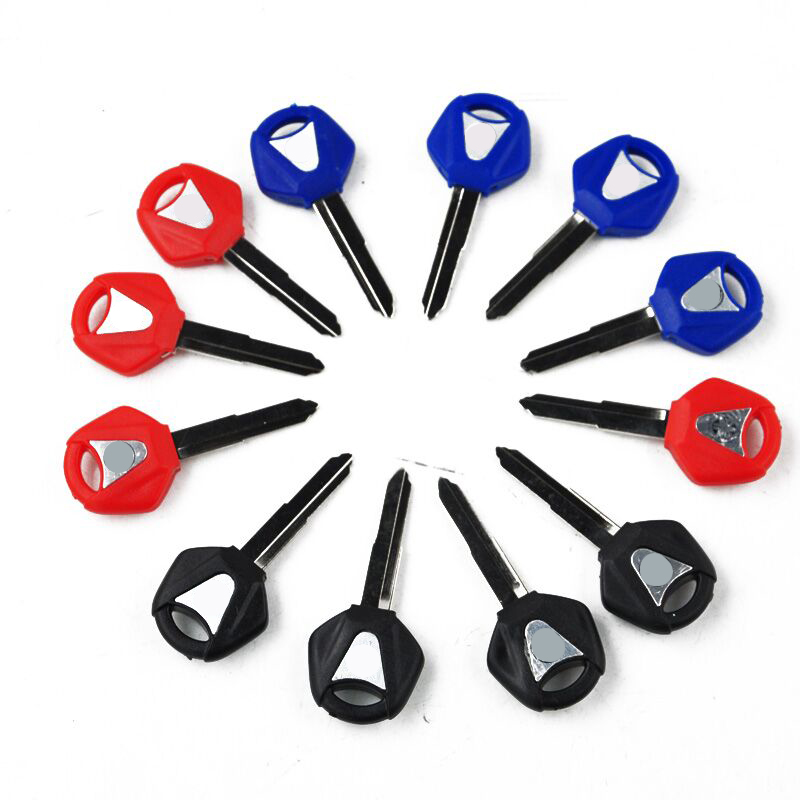 Motorcycle 12 Pcs  Motorcycle Blank Key  For R1 R6 For YZF R1 R6 XJR1200 XJR1300 FJR1300 S Uncut Blade