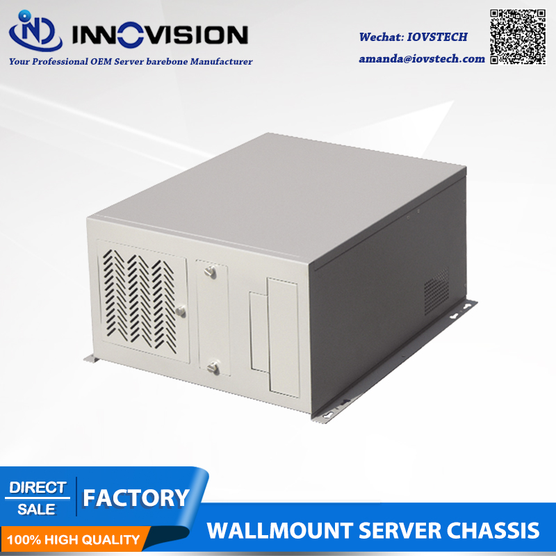 Hot-sale wall-mounting chassis IPC2408C industrial computer case supporting M-ATX motherboard hot sale m