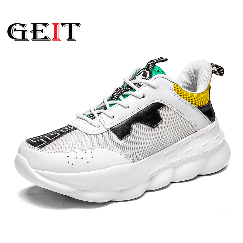 Men Running Shoes Lightweight Air Mesh Unisex Sneakers Comfortable Breathable Walking Sneakers Lace-up Sports Shoes For Lovers