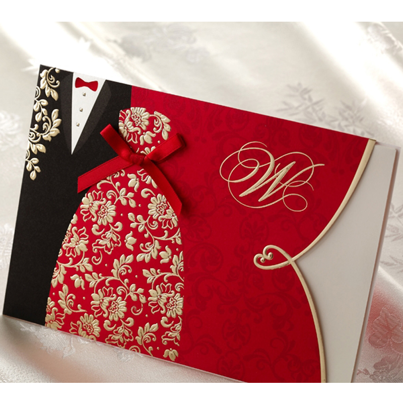Discount Wedding Invitation Packages with perfect invitation layout