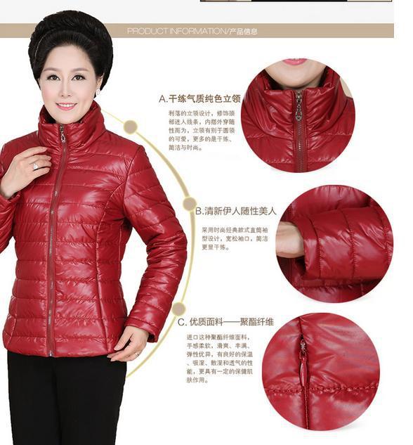 Winterjas Voor Oudere Dames.Aliexpress Com Koop Gewatteerde Jas Nieuwe Winterjas Grote Werven