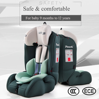 Adorbaby Pouch Q19 adjustable Child Car Safety Seats for 9 months 12 Years Car Seat for Baby cadeirinha para carro