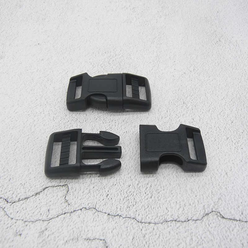 プラスチックバックルサイドリリースクラスプ使用 3/4 (20 ミリメートル) 用ナイロンストラップボートカバーバックパックファニーパックナイロンウェビング