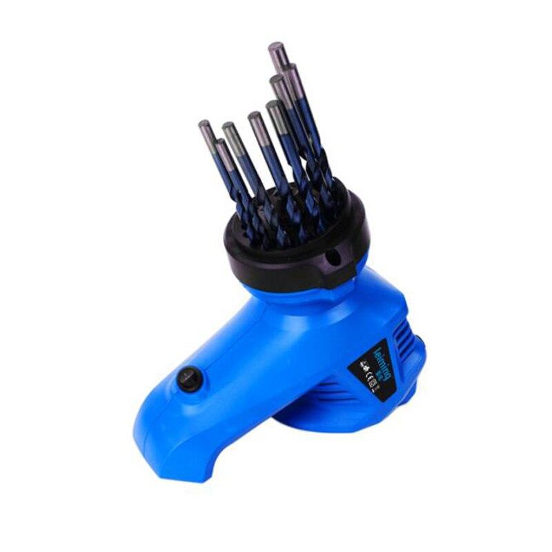 THGS 95 watt Bohrer Spitzer Lion Kopf Form Elektrische Bohrer Spitzer Für Schleifen Bohrer Größe 3 ~ 12mm EU Stecker