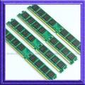 Новый 4 ГБ 4X1 ГБ PC2-5300 DDR2 667 МГЦ Настольных Памяти 4x1 ГБ 667 pc5300 ddr2 667 240-КОНТ ОПЕРАТИВНОЙ мГц низкой ПЛОТНОСТИ DIMM памяти Бесплатно доставка
