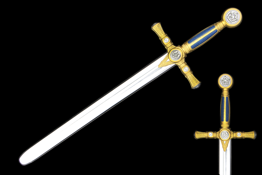 the Newest King's sword Toys Foam Diamond Sword EVA Model Toys Gift Toys Cosplay For Kids Birthday Gifts