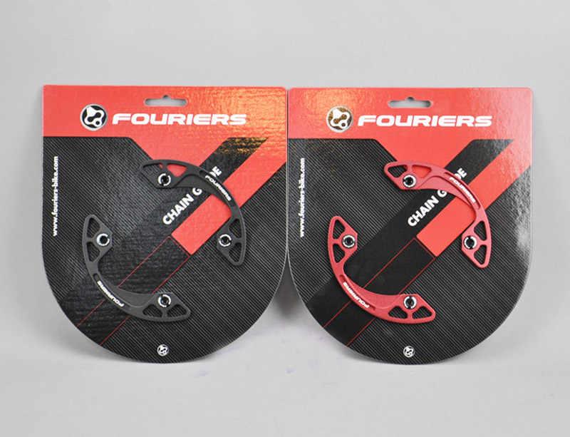 1 шт. сплав с ЧПУ Fouriers CG-DX002 MTB велосипедная цепь, для велосипеда Bash Guard Mount Chainring Guide 30-40T p.c. D 104 мм