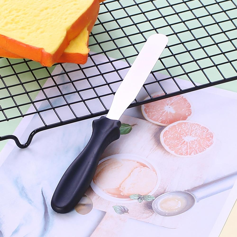 Bıçaq bucaqlı espatula dekoracao etmək 3pc spatula Cake Icing - Mətbəx, yemək otağı və barı - Fotoqrafiya 5
