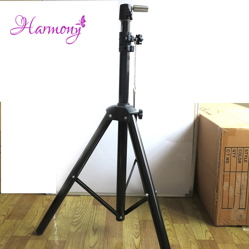 1pcs black color hair salon adjustable tripod stand for Salon stand
