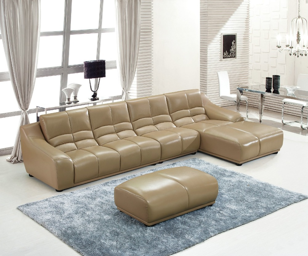 2019 European Style Set Modern Time-limited Sofas For Living Room Beanbag Bean Bag Sectional Sofa Hot Sale Geniune Leather Sofa
