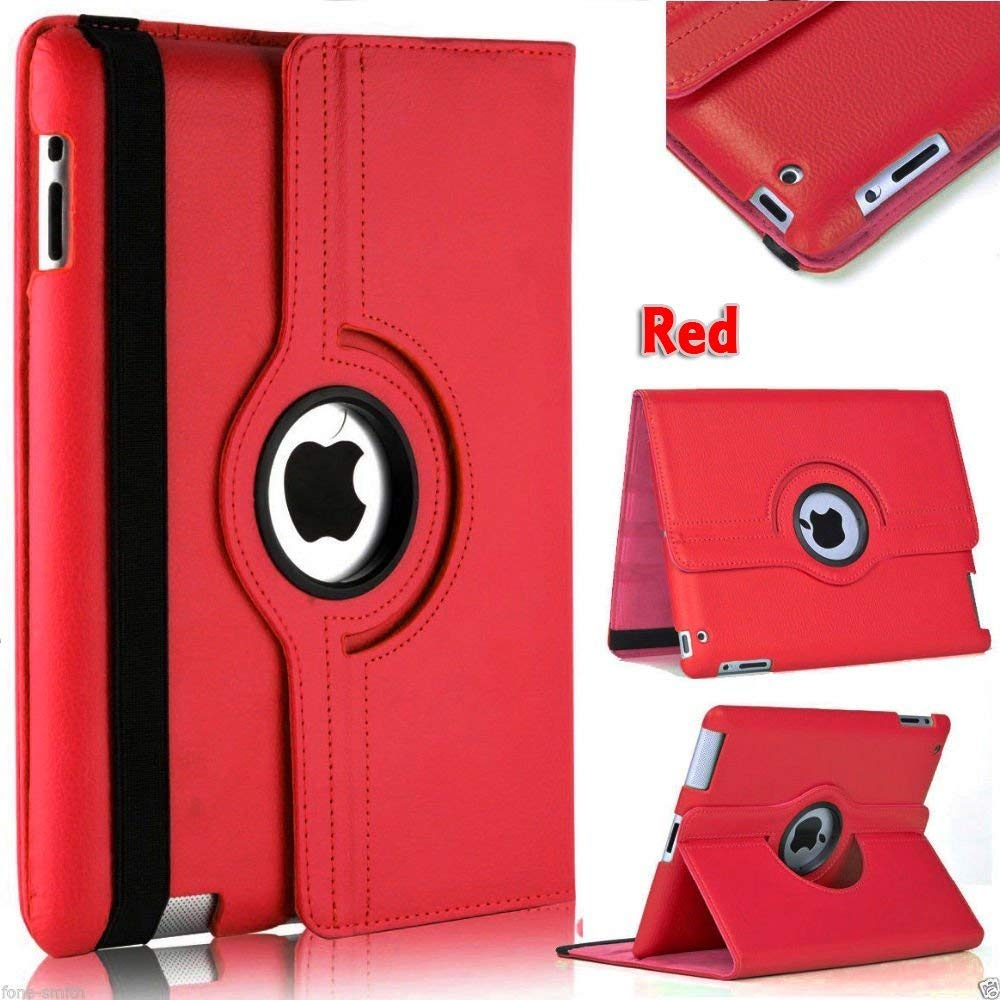 360 Degree Rotating Stand Cover For IPad Mini 1 2 3 Case PU Leather Smart Flip Capa For Funda IPad Mini 2 Case Cover Sleep/Wake