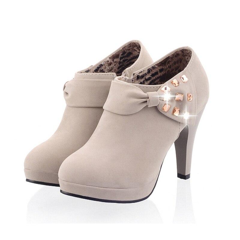 Ζεστό γυναικών Mary Jane παπούτσια μόδας - Γυναικεία παπούτσια - Φωτογραφία 4