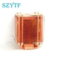 Dual Tower 90mm 4 Heatpipe CPU Fan CPU Cooler For Inte LGA775 1150 1155 1156 For