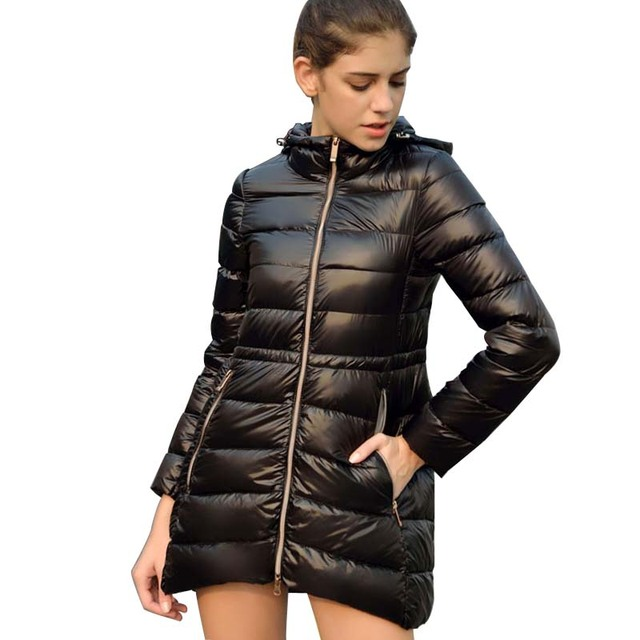 Aliexpress Com Buy Women S Jacket Made Of Goose Feather