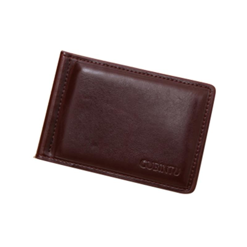 Men s PU leather font b Money b font font b Clip b font Slim Wallet