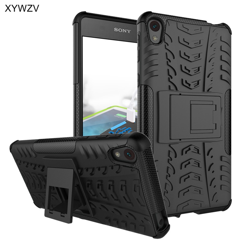 sFor Coque Sony Xperia E5 Case Shockproof Hard Silicone Phone Case For Sony Xperia E5 Cover For Sony E5 F3311 F3313 Shell XYWZV-in Fitted Cases from Cellphones & Telecommunications