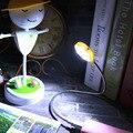 2016 Новый Современный Характер Продвижение Гибкая USB 0-5W12LEDs Лампы Для Ноутбука Ноутбук PC Чтение Исследование Ночь Белый Свет С Зеркалом