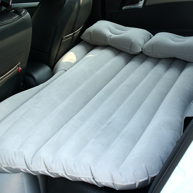 Car Air Inflatable Travel Mattress Bed Inflatable Sleeping Pad Universal for Back Seat Multi Functional Sofa Pillow OutdoorCar Air Inflatable Travel Mattress Bed Inflatable Sleeping Pad Universal for Back Seat Multi Functional Sofa Pillow Outdoor