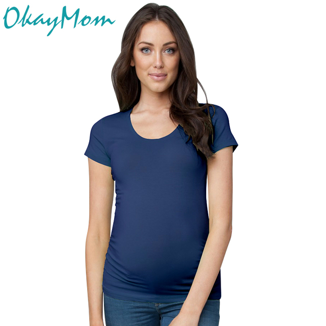 2017 Summer Euro America Classic Maternity T Shirt Cotton t-shirt Clothes For Pregnant Women Pregnancy Wear Top Tees Clothing
