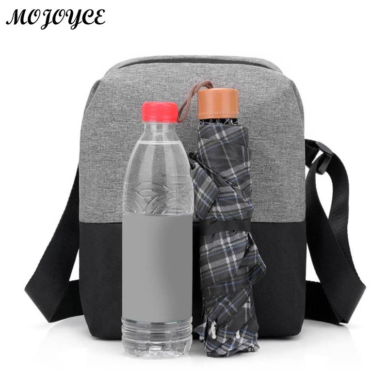 New Men's Crossbody 2018 Fashion Shoulder Bags High Quality Nylon Waterproof Casual Messenger Businessmen Bag Casual Briefcase 5