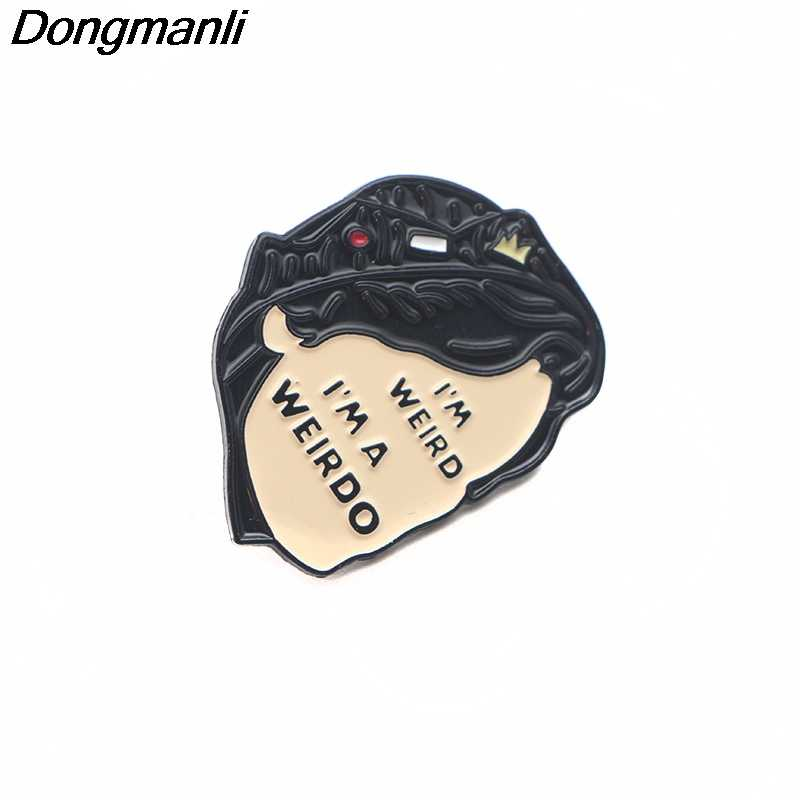 P3179 Dongmanli Riverdale Metal Enamel Pins and Brooches for Women Men Lapel Pin backpack bags Hat badge Kids Gifts