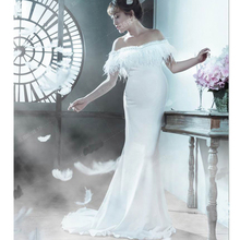 89e0c129f4 Buy white formal maternity dresses and get free shipping on AliExpress.com