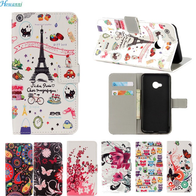 Howanni Case For Wiko Tommy Case 5.0 Inch Colorful Painted leather Phone Cases Cover For Wiko Tommy 2 Case Capa Coque